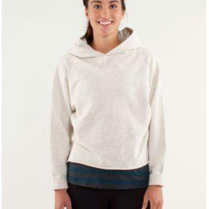 Lululemon Please Me Pullover in Polar Cream Hoodie